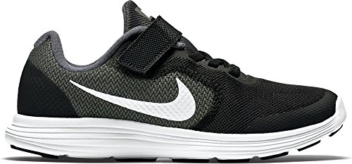 Nike Jungen Revolution 3 Psv Sneakers, Grau (Dark Grey/White-Black-Pr Pltnm), 34 EU (2 UK)